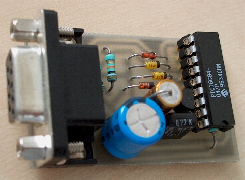 PIC 16F84 Serial Programmer